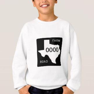 Texas-Landstraße Sweatshirt