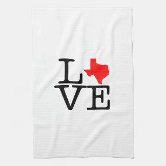 Texas-Liebe-Küchen-Tuch Handtuch