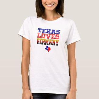 Texas-Lieben Deutschland T-Shirt