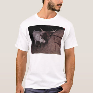 Texas Longhorn 2 an den Cowcatchers T-Shirt