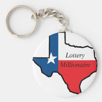 Texas-Lotterie-Millionär Schlüsselanhänger