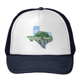 Texas-Malerei Retrokultmützen