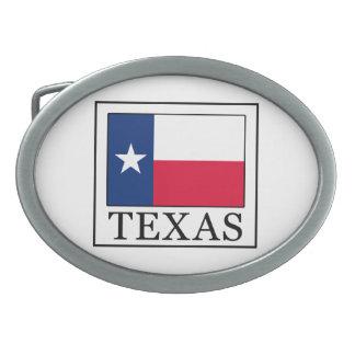 Texas Ovale Gürtelschnalle