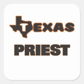 Texas-Priester Quadrat-Aufkleber