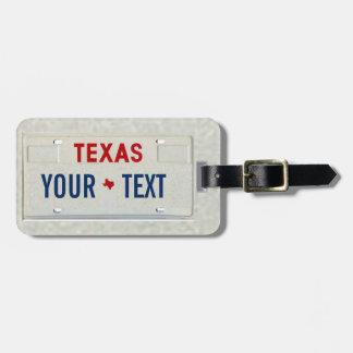 Texas-Reisender Gepäckanhänger