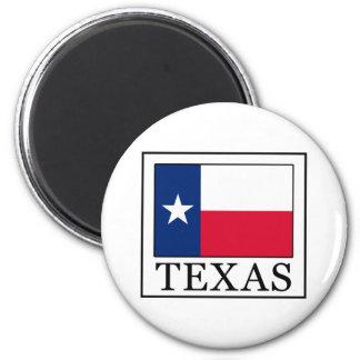 Texas Runder Magnet 5,7 Cm