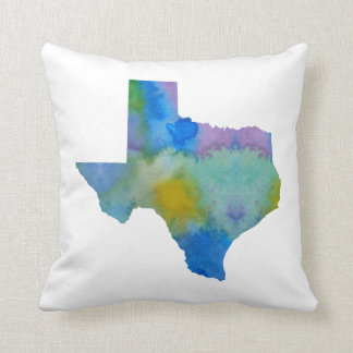 Texas-Silhouette Kissen