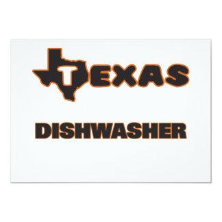Texas-Spülmaschine 12,7 X 17,8 Cm Einladungskarte