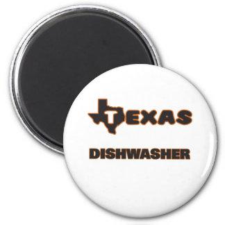 Texas-Spülmaschine Runder Magnet 5,7 Cm