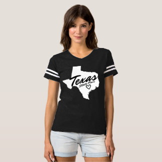 Texas-Staat angemessenes Jersey T-shirt