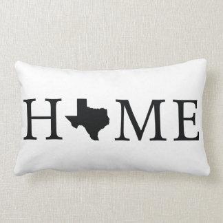 Texas-Staat ZUHAUSE lumbales Throw-Kissen Lendenkissen