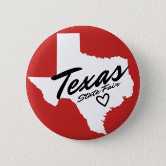 Texas-Staats-angemessener kleiner Knopf Runder Button 5,1 Cm