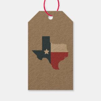 Texas-Staats-Flaggen-Geschenk-Umbauten Geschenkanhänger