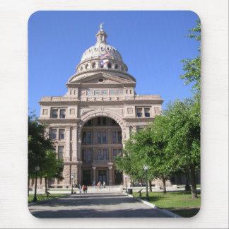 Texas-Staats-Hauptstadt Gebäude-Austin, TX Mousepad