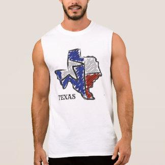 TEXAS-Staats-Shirt Ärmelloses Shirt