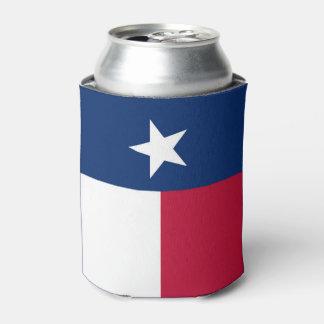 Texas-Staatsflagge - hochwertige authentische Dosenkühler