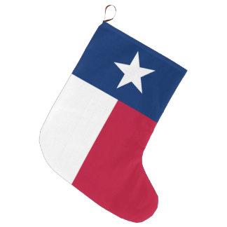 Texas-Staatsflagge - hochwertige authentische Großer Weihnachtsstrumpf