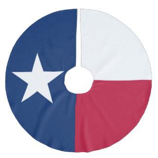 Texas-Staatsflagge - hochwertige authentische Polyester Weihnachtsbaumdecke