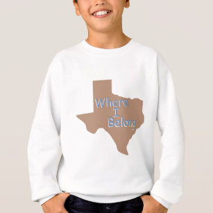 TEXAS SWEATSHIRT