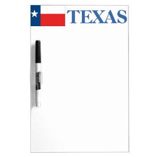Texas-Texas Flagge Memoboard
