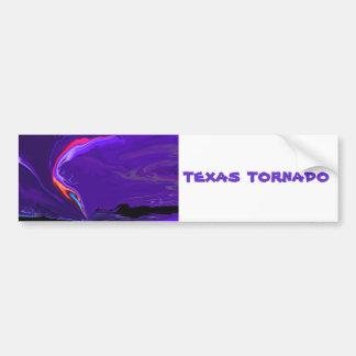 Texas-Tornado Autoaufkleber