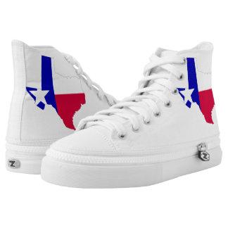 Texas-Turnschuhs für Verkauf! Hoch-geschnittene Sneaker