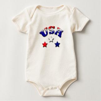 Texas-Unabhängigkeitstag Baby Strampler