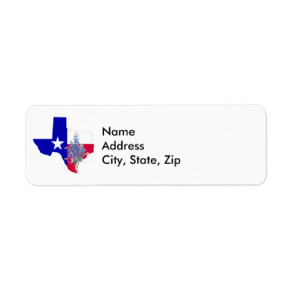 Texas und Bluebonnets