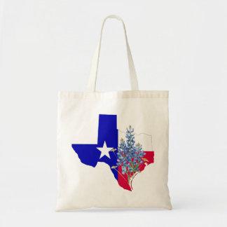 Texas und Bluebonnets Tragetasche