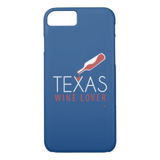 Texas-Wein-Liebhaber iPhone 7 Fall iPhone 8/7 Hülle