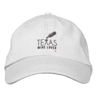 Texas-Wein-Liebhaber-justierbarer Hut