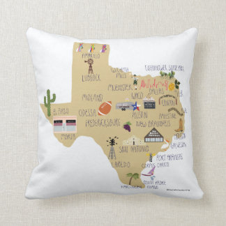 Texas-Wurfs-Kissen Kissen