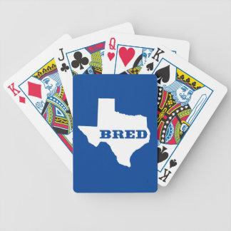 Texas züchtete bicycle spielkarten