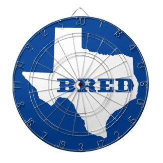 Texas züchtete dartscheibe