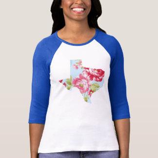 Texasblument-stück T-Shirt