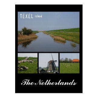 Texel Insel Postkarte