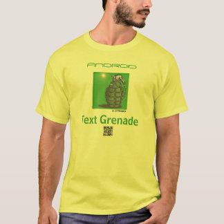 Text-Granaten-APP T-Shirt