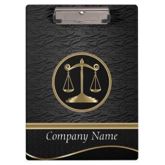 Text Professional Company der Art-| Rechtsanwalt-| Klemmbrett