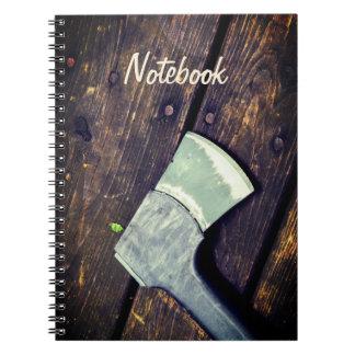 Text-Schablone | Axe&Wood Notizblock