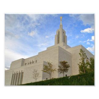 Textilkaufmann, Tempel Utahs LDS Fotodruck
