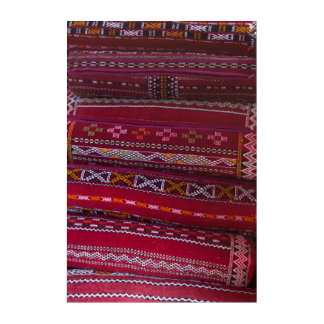 Textilkissen-Muster Acryl Wandkunst