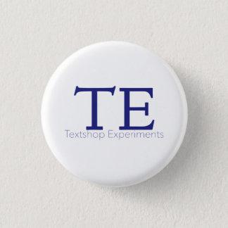 Textshop experimentiert Knopf Runder Button 2,5 Cm