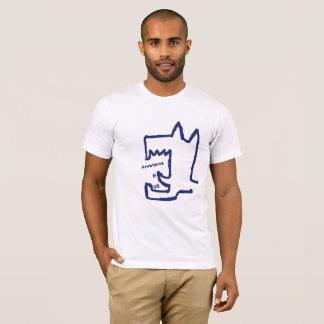 """Textshop experimentiert """"Probleme B wir"""" T - Shirt"""