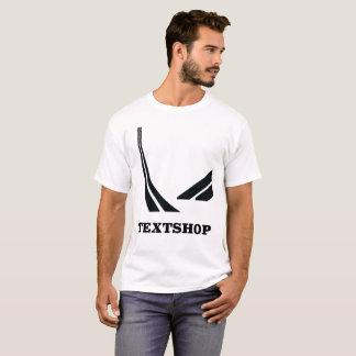 Textshop weg vom Schienen-T - Shirt