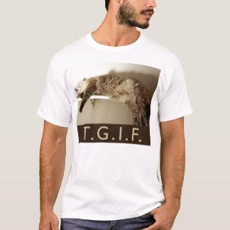 TGIF Miezekatze-Art! T - Shirt
