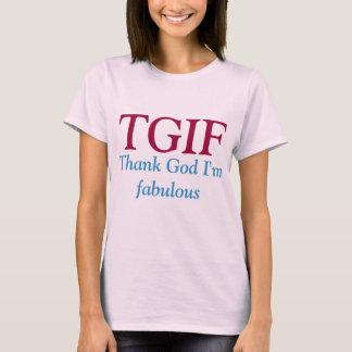 TGIF T-Shirt. T-Shirt