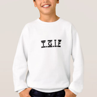 TGIF Untergrund Sweatshirt