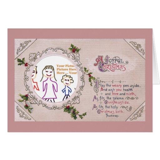 Thackeray WeihnachtsVers-Rahmen Karten