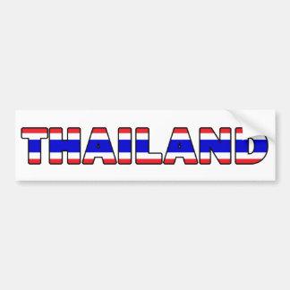 Thailand-Autoaufkleber Autoaufkleber