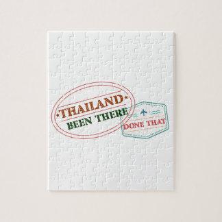 Thailand dort getan dem puzzle